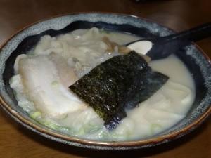 刀削麺(とんこつ)