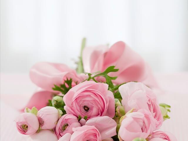 バラの花束 お祝い