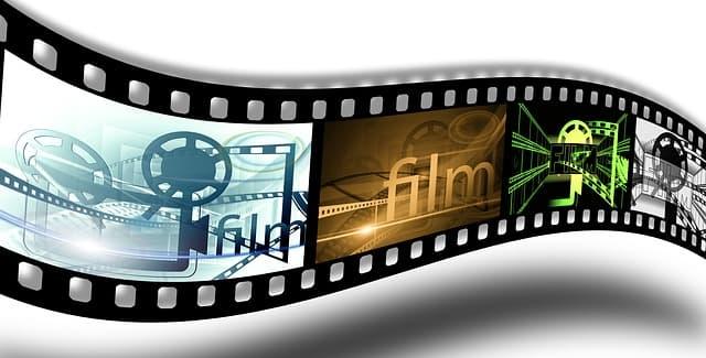 映画フィルムのイメージ画像