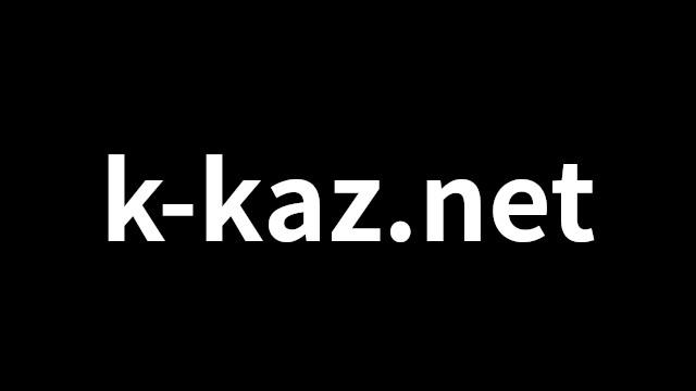 k-kaz.net のイメージ画像_black