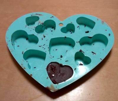 ゆーちゃんの手作りチョコレート