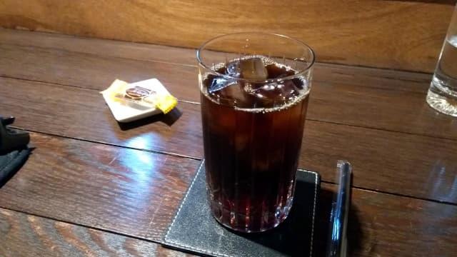 今年初のアイスコーヒーです。